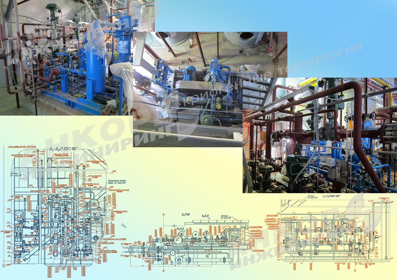 Проект станции производства промышленных газов